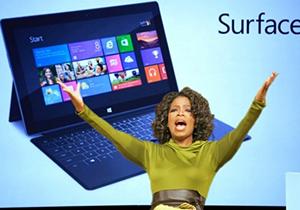 Oprah มอง Surface เปรียบดั่งรถเบนซ์ พร้อมจัดขึ้นรายชื่อผลิตภัณฑ์ที่น่าสนใจที่สุดแห่งปี