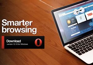 Opera 12.10 รองรับ Windows 8, จอสัมผัสและความละเอียดจอ Retina Display แล้ว
