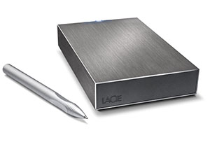 LaCie ปัดฝุ่น Minimus กับฮาร์ดดิสก์รุ่นใหม่ มาพร้อมความจุ 3 TB และ USB 3.0