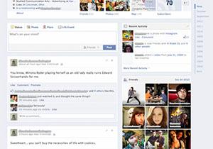 Facebook ทดสอบหน้าตา Timeline แบบใหม่ รวมโพสท์มาเป็นคอลัมน์เดียว