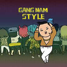 220px Gangnam Style cover