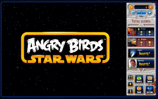 Angry Birds Star Wars on Facebook 100819