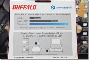 Buffalo MiniStation Thunderbolt Review 005