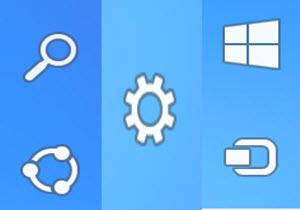 ปิด - เปิดการโชว์ Charms Bar ใน Windows 8