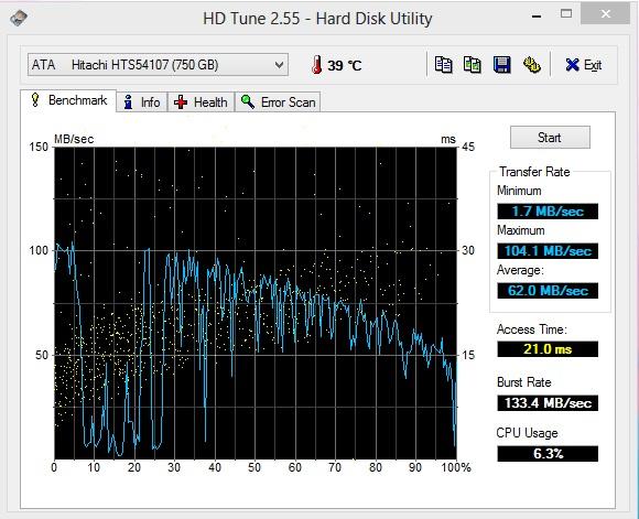 HDD Tune2
