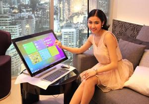 Lenovo จัดงานเปิดตัว All-in-One PC หน้าจอทัชสกรีน IdeaCentre A520