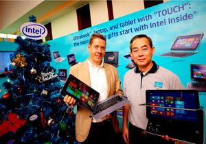 Intel สรุปเทคโนโลยีและผลิตภัณฑ์ประจำปี 2555 พร้อมสิ่งใหม่ในปีหน้า