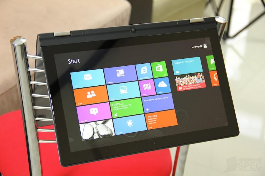 Lenovo IdeaPad Yoga 13 Review [จอทัชพับ 360 ํ] - Notebookspec