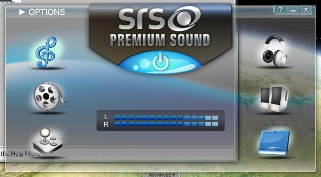 SRS premium sound