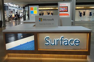Surface kiosk