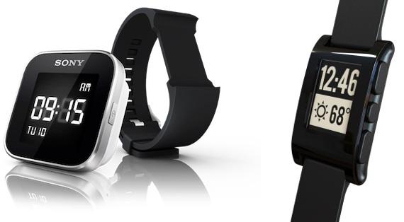 sony smartwatch pebble