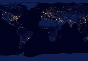 Google เปิดแสดงแผนที่โลกยามค่ำคืน แสดงแสงไฟจากเมืองต่างๆ ทั่วโลก
