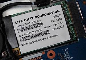 Lite-On พัฒนา SSD mSATA หน้าตาแปลก สำหรับการออกแบบของ Acer