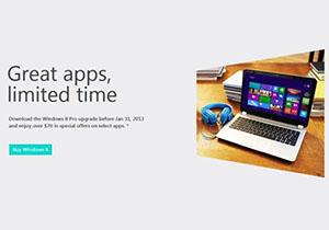 แอพพลิเคชั่นบน Windows 8 เสนอโปรพิเศษทั้งลดและฟรี ไปจนถึง มกราคม 2013