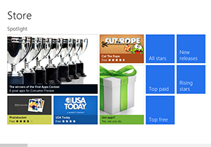 ยอดแอพ Windows 8 ทะลุ 35,000 แอพแล้ว เฉลี่ยเพิ่มขึ้น 415 รายการต่อวัน