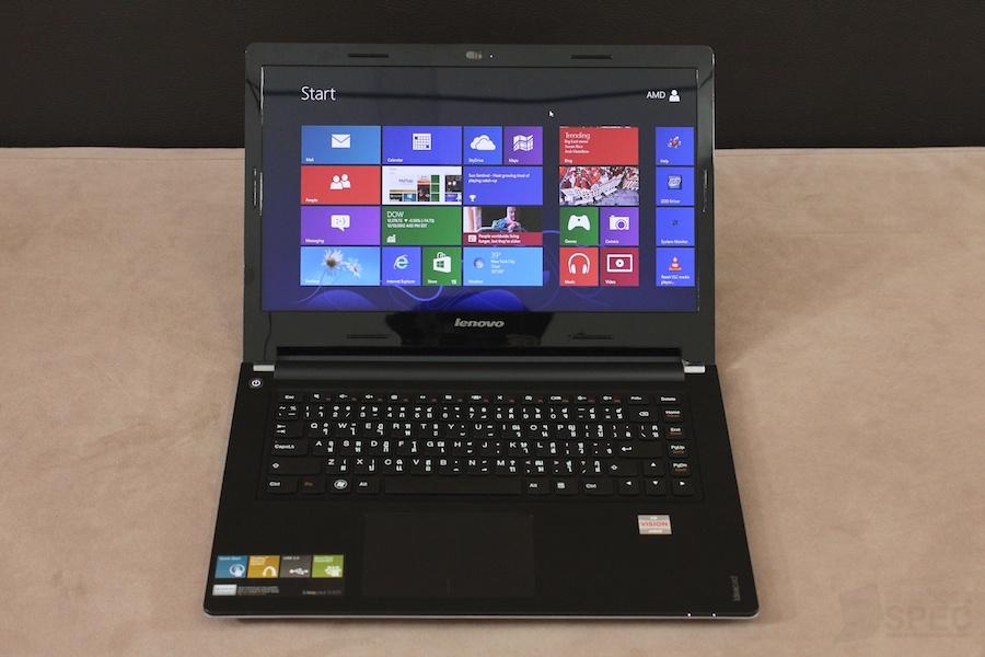 Lenovo Sleek Notebook S405 AMD A8 Review 001