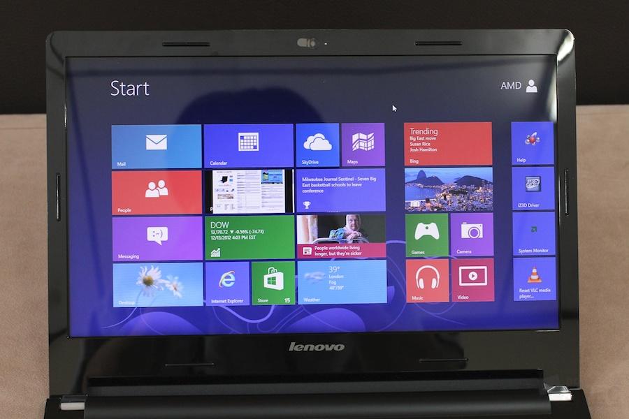 Lenovo Sleek Notebook S405 AMD A8 Review 007