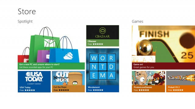 You Can Choose From Your Favorite Apps in the Windows Store Web