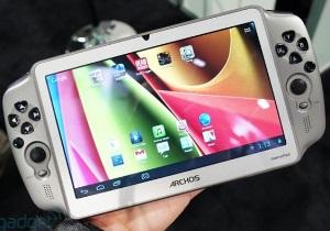 [CES 2013] Archos GamePad แท็บเล็ต Android ขนาดหน้าจอ 7 นิ้ว เพื่อคนรักการเล่นเกม