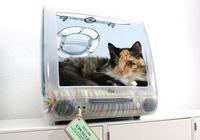 เปลี่ยน iMac เครื่องเก่าให้กลายเป็นที่นอนของน้องแมว กับแนวคิด
