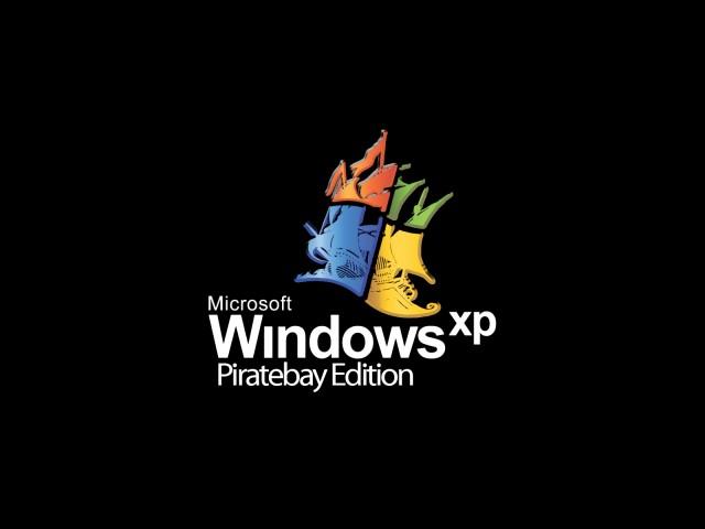 pirate bay windows xp logo by jeffhoyo