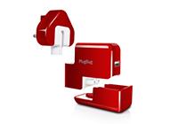 PlugBug หัวปลั๊กไฟเอนกประสงค์สำหรับนักเดินทางที่ต้องการชาร์จมือถือพร้อม MacBook
