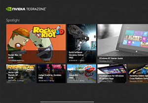 NVIDIA ออกแอพลิเคชั่นร้านค้าใหม่อย่าง TegraZone สำหรับ Windows RT