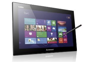 [CES 2013] Lenovo ThinkVision LT 1423p แท็บเล็ต 13 นิ้ว กับ Horizon Table PC หน้าจอ 27 นิ้ว