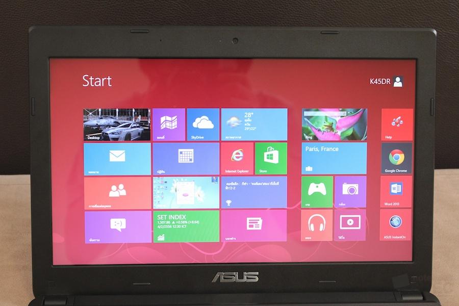 ASUS K45DR VX037D AMD A8 Review 007