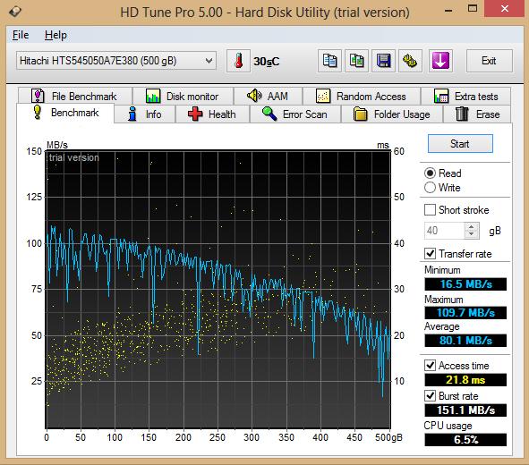 HDD Tune 1