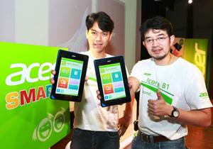 Acer เดินหน้ารุกตลาดแท็บเล็ตเพื่อการเรียนรู้  เผยโฉม Acer ICONIA B1 ที่มาพร้อมกับราคา 3,990 บาท