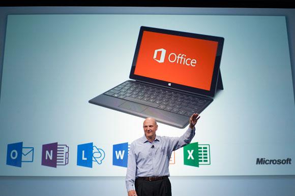 Steve Ballmer intros Office 2013