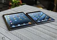 ภาพจำลองเทียบขนาด iPad 4, iPad Mini, iPhone 5 และ iPad 5 ที่มีดีไซน์เปลี่ยนให้บางและเบาลงไปอีก