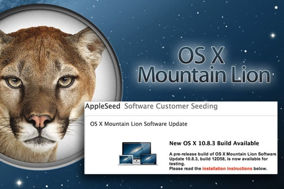 Apple อัพเดท OS X 10.8.3 มาพร้อมการรองรับ Windows 8 ผ่านทาง Boot Camp และปรับปรุงมากมาย