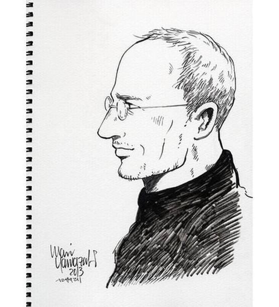 Steve Jobs เวอร์ชั่นการ์ตูนญี่ปุ่นมาแล้ว โดยเป็นเรื่องจริงถอดมาจากหนังสือชีวประวัติของ Steve Jobs อีกที
