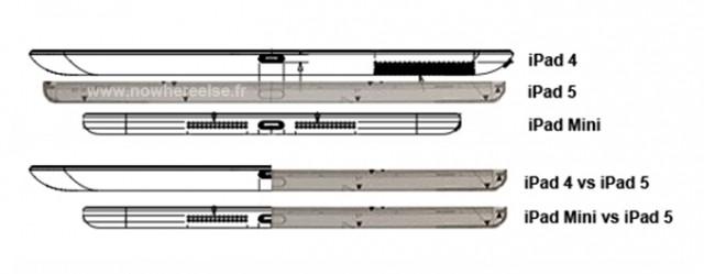 Leaked Apple iPad 5 design schematics 4