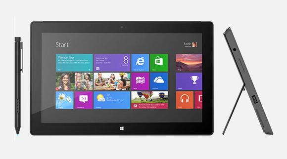 Microsoft Surface with Windows 8 Pro 580 100