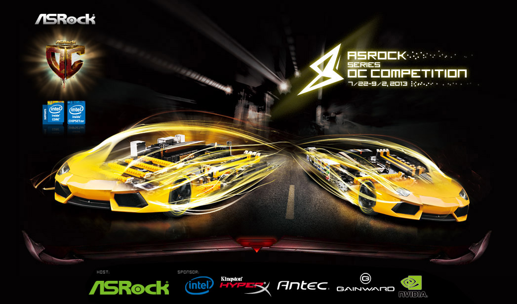 ASRock 8 Series OC Competition
