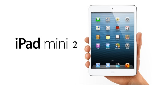 Apple iPad Mini 2 Retina display