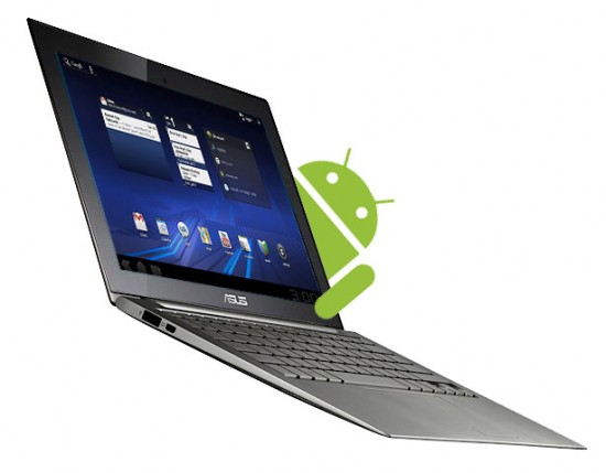 Asus ARM based laptop with Android