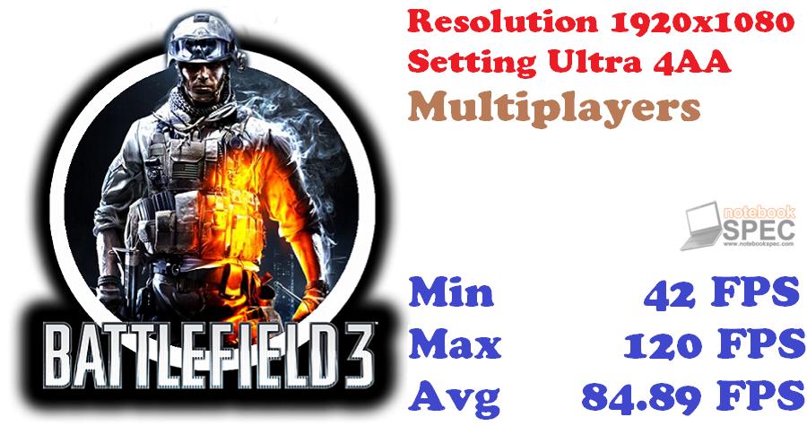 Battlefield3 TEST SCORE GTX770 LT
