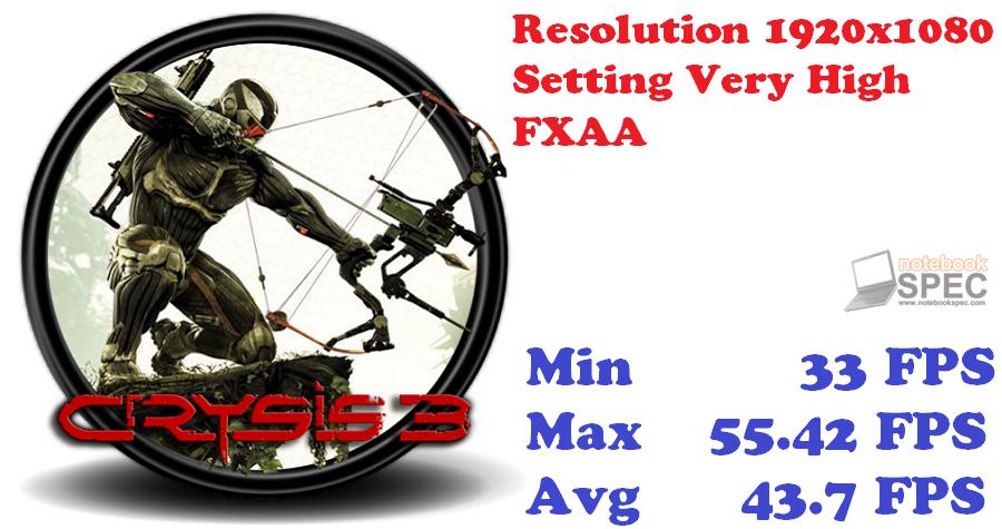 CRYSIS 3 TEST SCORE GTX770 LT Copy