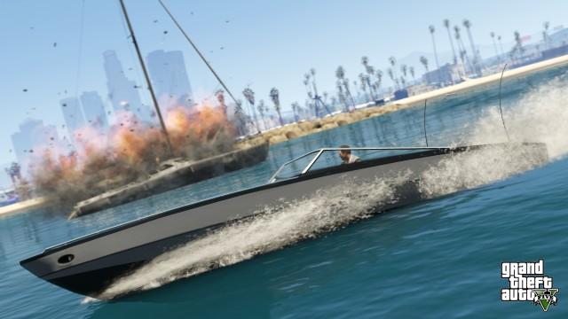 GTA V Boat