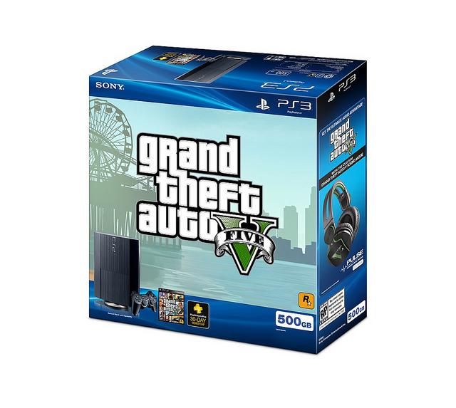 GTA V PS3 Bundle