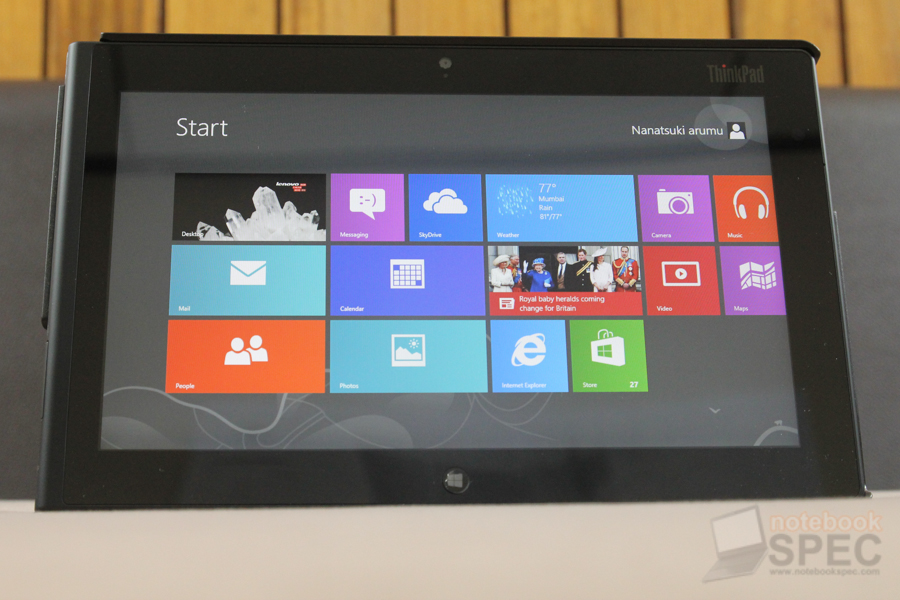 Lenovo ThinkPad Tablet 2 101