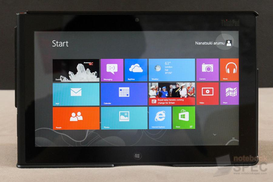 Lenovo ThinkPad Tablet 2 110