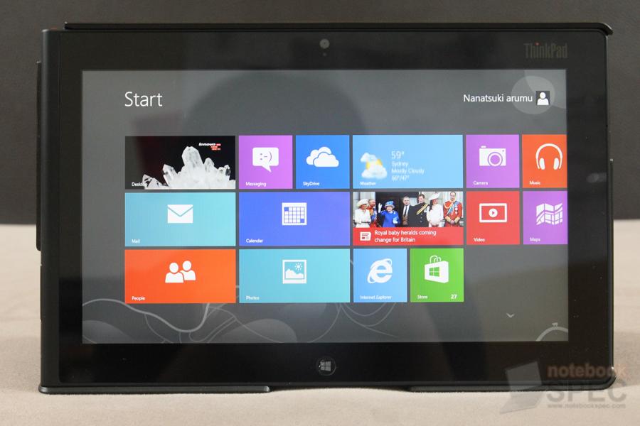 Lenovo ThinkPad Tablet 2 61