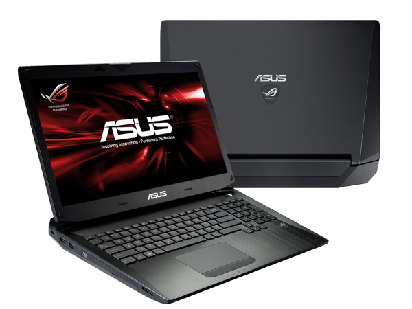 PR ASUS ROG G750 side and top views