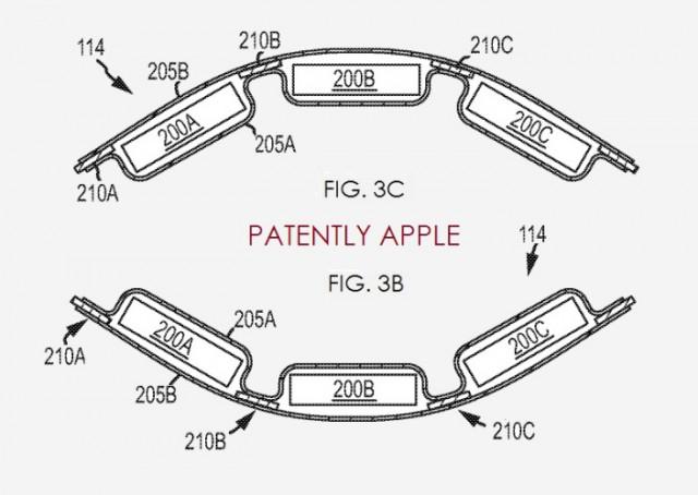 flexible battery pack patent apple