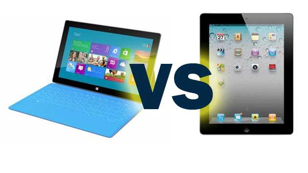 ipad vs microsoft surface